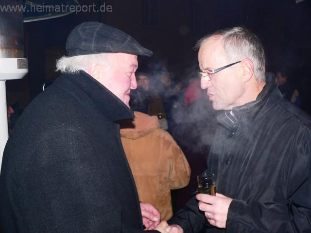 """Pastor Barlage wünscht allen Erlern ein """"frohes neues Jahr"""""""
