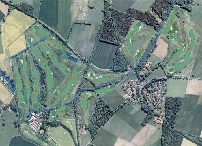 18 Loch Golfclub Weselerwald