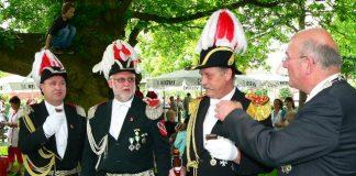 Vorparade Schützenfest Erle 2009