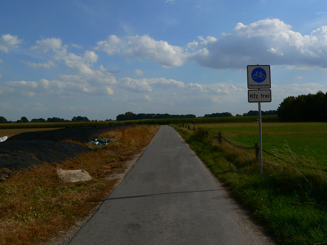 Fahrradstraße Raesfeld-Erle