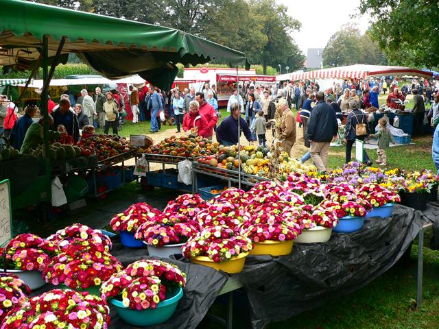 Bauernmarkt auf dem Hof Stegerhoff in Erle
