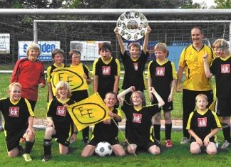 Eintracht Erle E1-Meister 2010