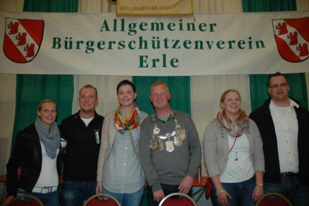 Vogelstange Erle 2012