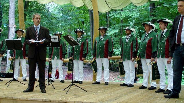Eröffnung Naturpark Hohe Mark Schloss Raesfeld