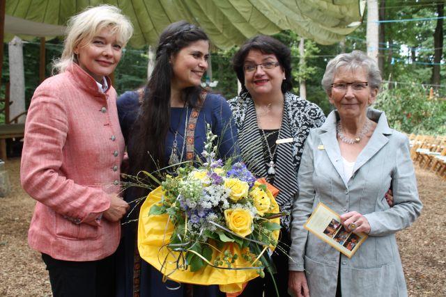 Kerstin-Löwenstein-Christiane-Willms-Petra-Exner-Präsidentin und Luzie Hetkamp Mitsponsorin