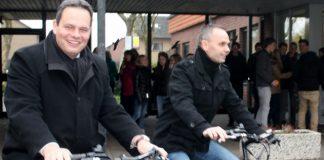 Dienstrad fährt Grotendorst