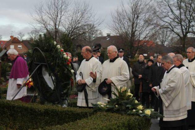 Beerdigung Pastor Barlage