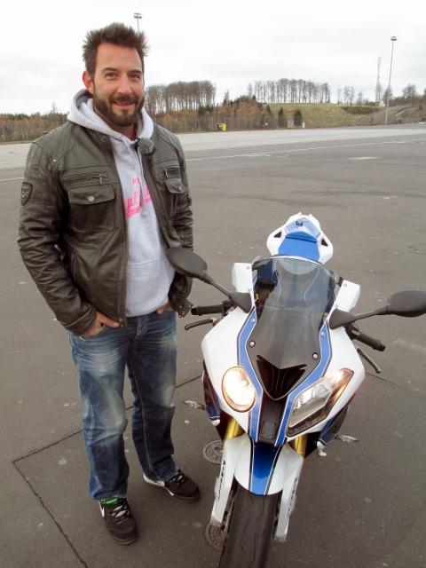 Jens Kuck mit der BMW S 1000 RR HP4