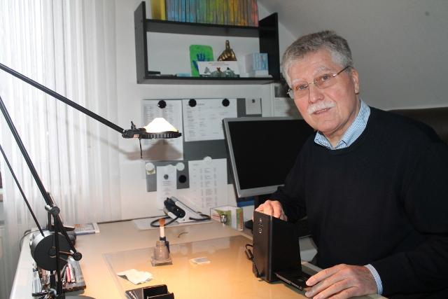 Raesfelds Bürgermeister Udo Rößing a.D. hat nun endlich Zeit für seine Hobbys