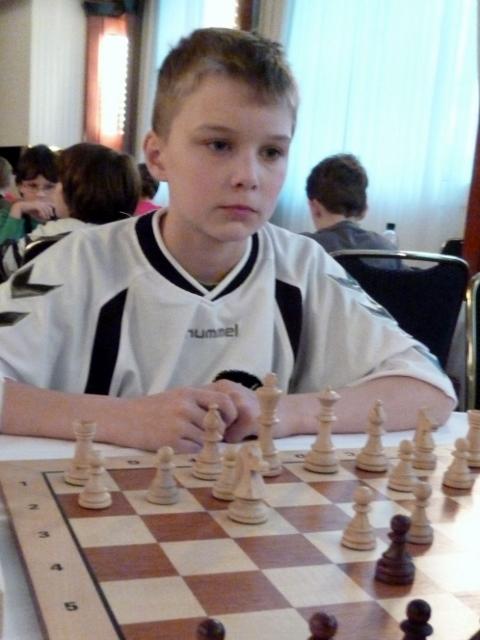 Erfolgreichster Raesfelder Spieler: Lars Lewerenz blieb in seinen 5 Spielen bei der DM ungeschlagen.
