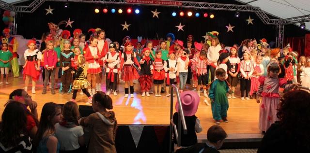 Kinderkarneval in Raesfeld 2014