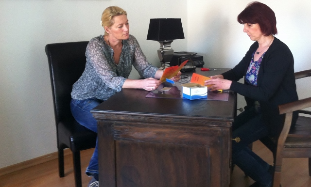 Judith Kolschen und Annette Platzek re