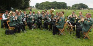 Die Burgmusikanten sorgten für den musikalischen Rahmen