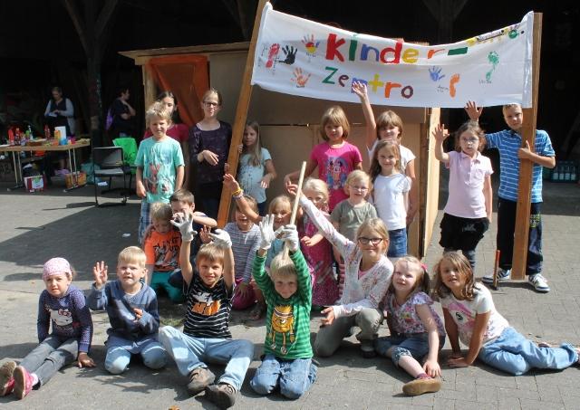 Richtfest am Jugendhaus in Raesfeld