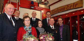 Seit 1974 ist Helmut Demmer im Löschzug Erle, seit 1999 Löschzugführer und seit 2000 stellvertretenden Leiter der Feuerwehr Raesfeld.