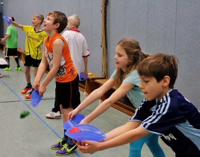 Life-Kinetik in der Sebastian Schule in Raesfeld