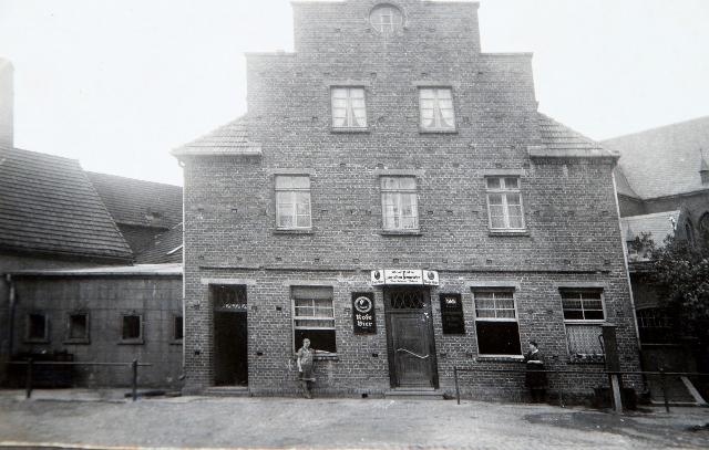 Das Elternhaus von Elisabeth Schwane - heute Gaststätte Brömmel-Wilms
