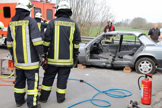 Unfall Raesfeld 14.4.15