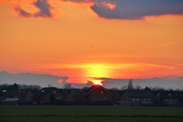 Sonnenuntergang Ostermontag in Raesfeld (6)