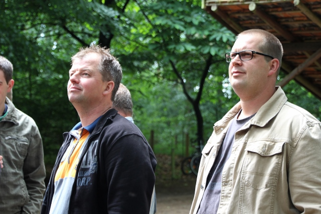 Vogelstange Dämmerwald 2015