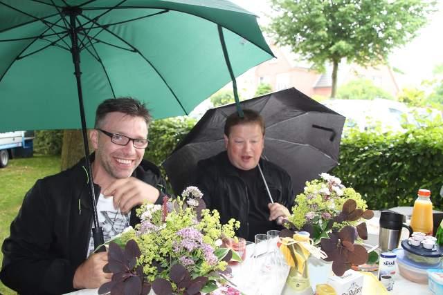2. Bürgerfrühstück in Erle unter den Kastanien