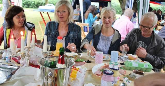 Bürgerfrühstück in Erle