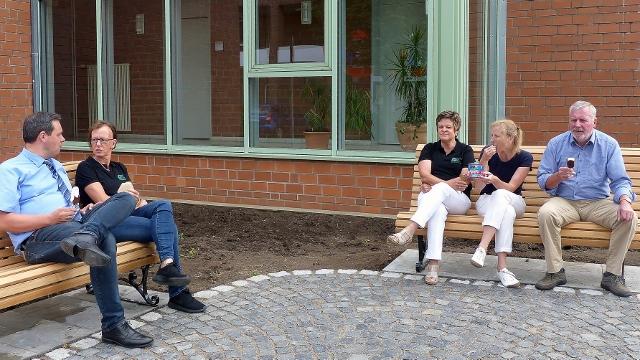 Plauderbänke in Raesfeld von der Bürgerstiftung