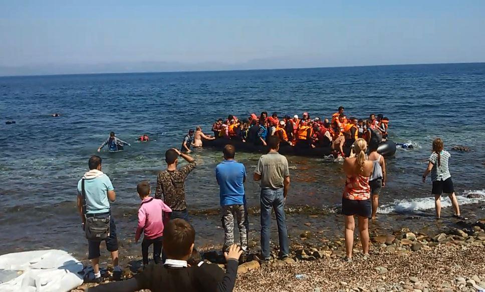 Überfahrt von Izmir nach Samos-Bootpeople