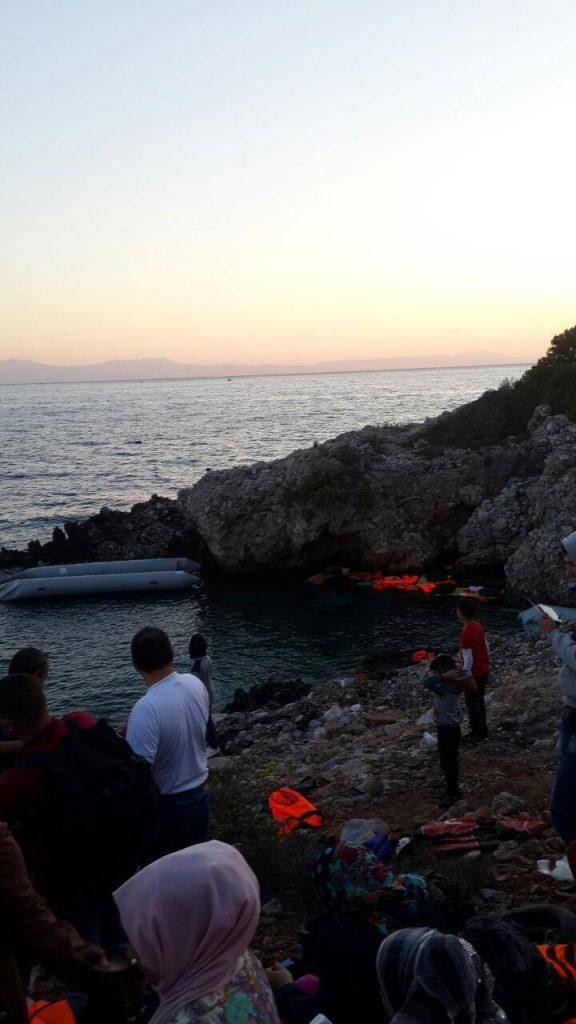Familie Al Ganey in der Türkei am Strand (1)