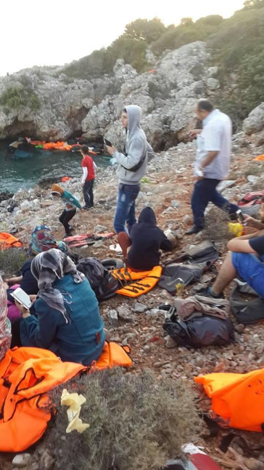 Familie Al Ganey in der Türkei am Strand (2)