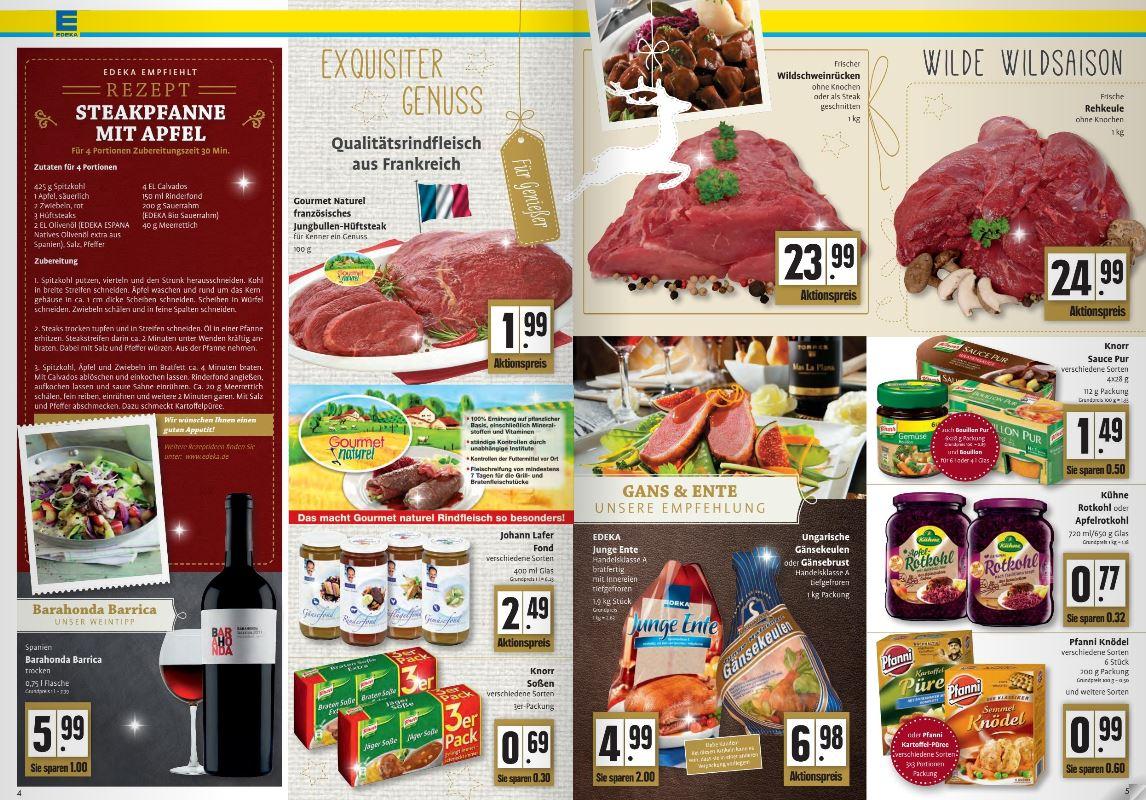 Wöchentlich Online Angebot Edeka Markt Erle Heimatreport