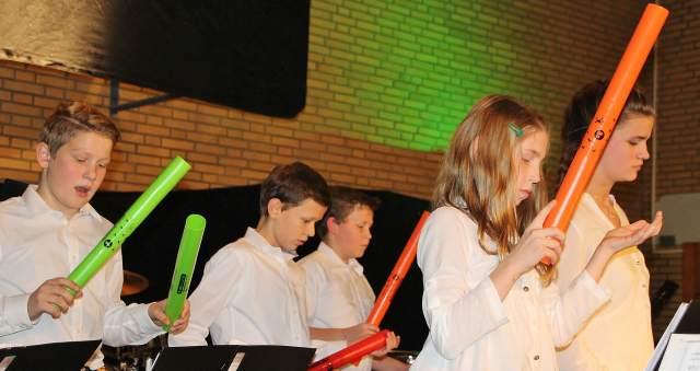 """Völlig neue Töne gab es vom Jugendorchester der """"Erler Jäger"""" beim Herbstkonzert am Sonntag."""