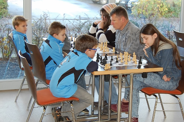 Schachturnier in Raesfeld-Schulen (1)