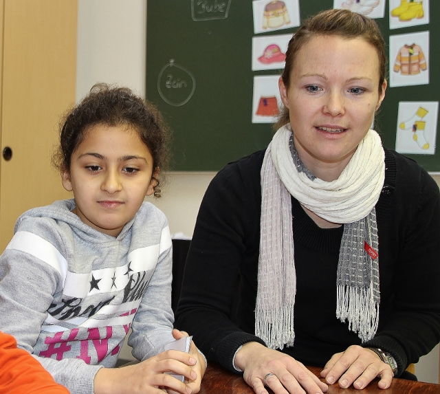 Deutsch für Ausländer Kinder Raesfeld Heimatreport Petra Bosse