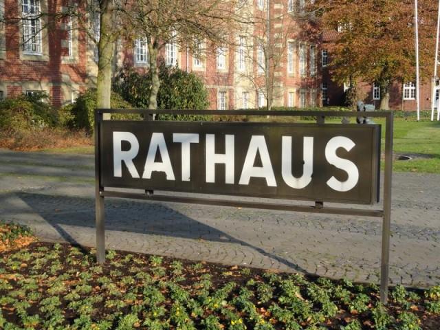 Rathaus Borken pressedienst