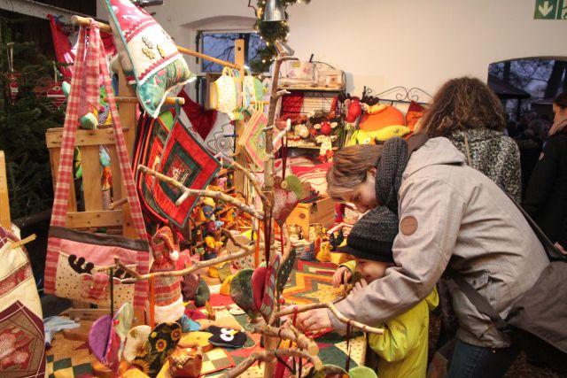 Letzter Weihnachtsmarkt auf Preens Hoff