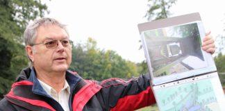 Walter Großewilde führte Besucher durch den Tiergarten