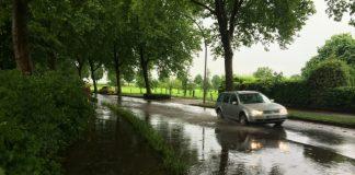Unwetter in der Schlossfreiheit Raesfeld