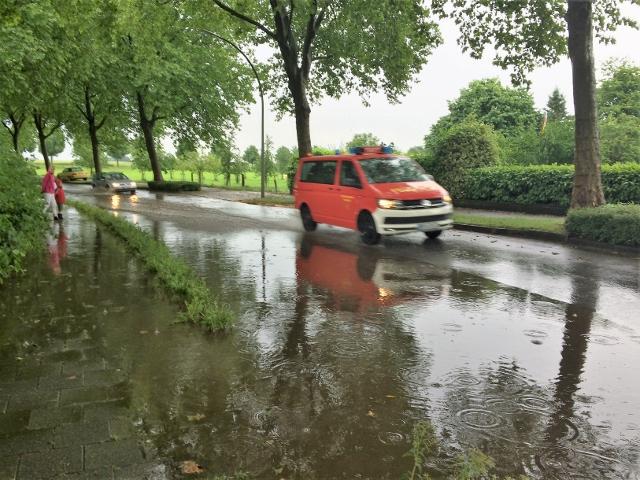 Überschwemmung in Raesfeld nach Unwetter 2016