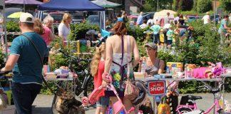 Kinderflohmarkt Raesfeld Förderverein Ortsmarketing 2016 (