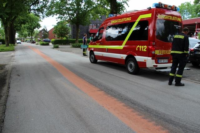 Oelspur Silvesterstr. 2016 Feuerwehr Erle (1)