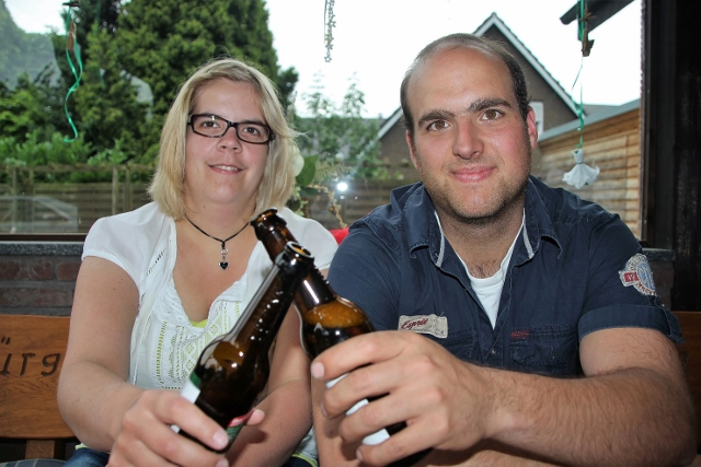 Das junge Königspaar des St. Johannisbürgerschützenvereins Eva Brömmel und Alexander Bruns hatten eine tolle Zeit.