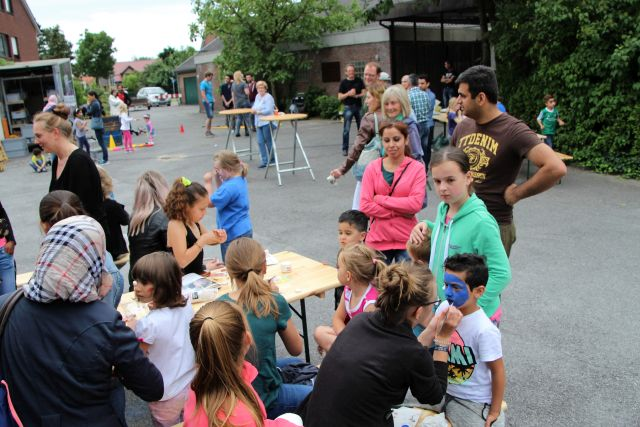 Familientag für Flüchtlinge Raesfeld