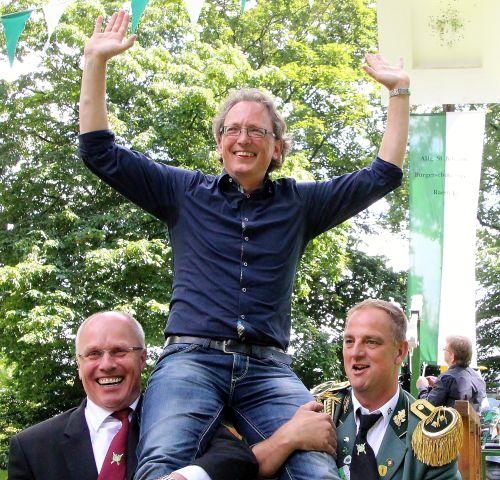 Markus Büsken ist neuer Raesfelder Schützenkönig 2016