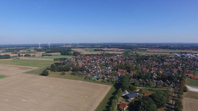Luftaufnahmen vom Bauernmarkt Stegerhoff in Raesfeld-Erle