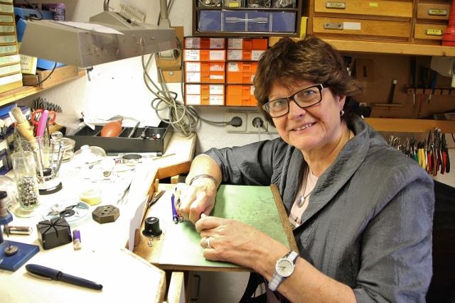 Nach 32 Jahren schließt Ingrid van Stegen das Uhren- und Schmuckgeschäft.