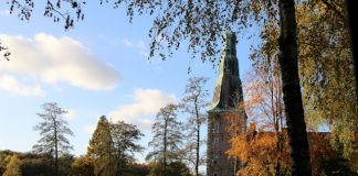Schloss Raesfeld im Herbst