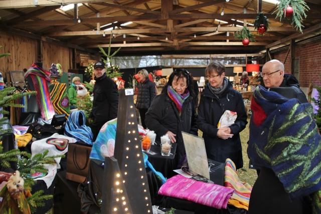 stimmungsvoller weihnachtsmarkt in erle heimatreport. Black Bedroom Furniture Sets. Home Design Ideas