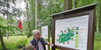 Barrierefrei im Tiergarten von Schloss Raesfeld