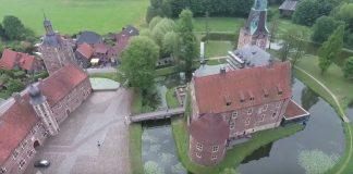 Drohnen Einsatz Schloss Raesfeld-